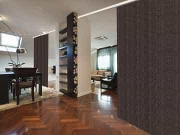 Panel decorativo opaco NEPTUNO marrón sepia