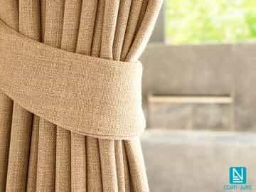 Cortina decorativa ZEUS alpaca color lino