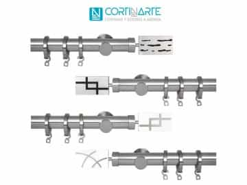 Mecanismo barra cortina INFINITY ZEN