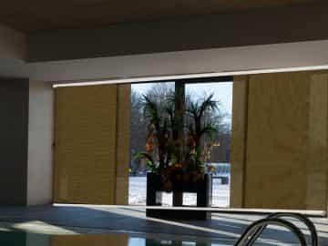Panel japonés screen RUSTIC ignífugo