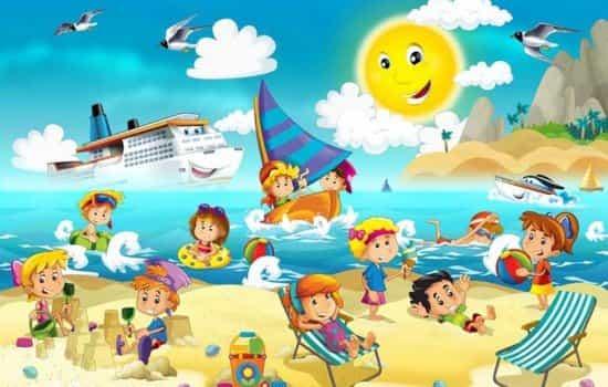 Estores enrollables estampados infantiles dibujos animados